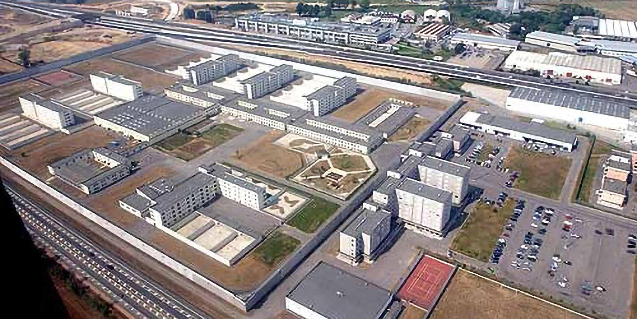 carcere di Bollate dall'alto