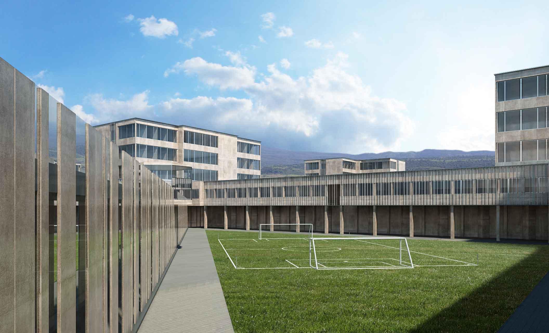 carcere di Nola campo da calcio