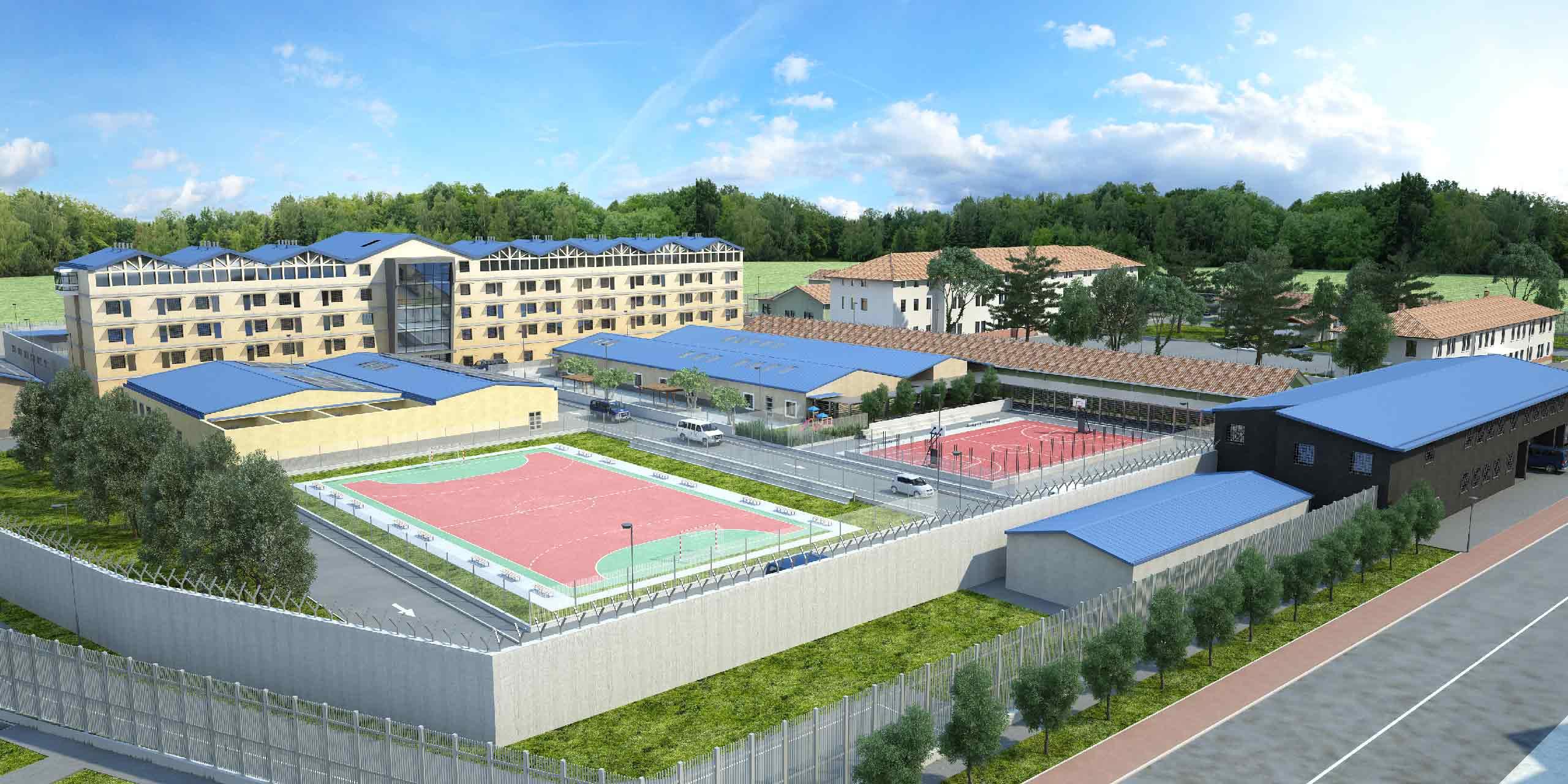 carcere di San Vito campi sportivi