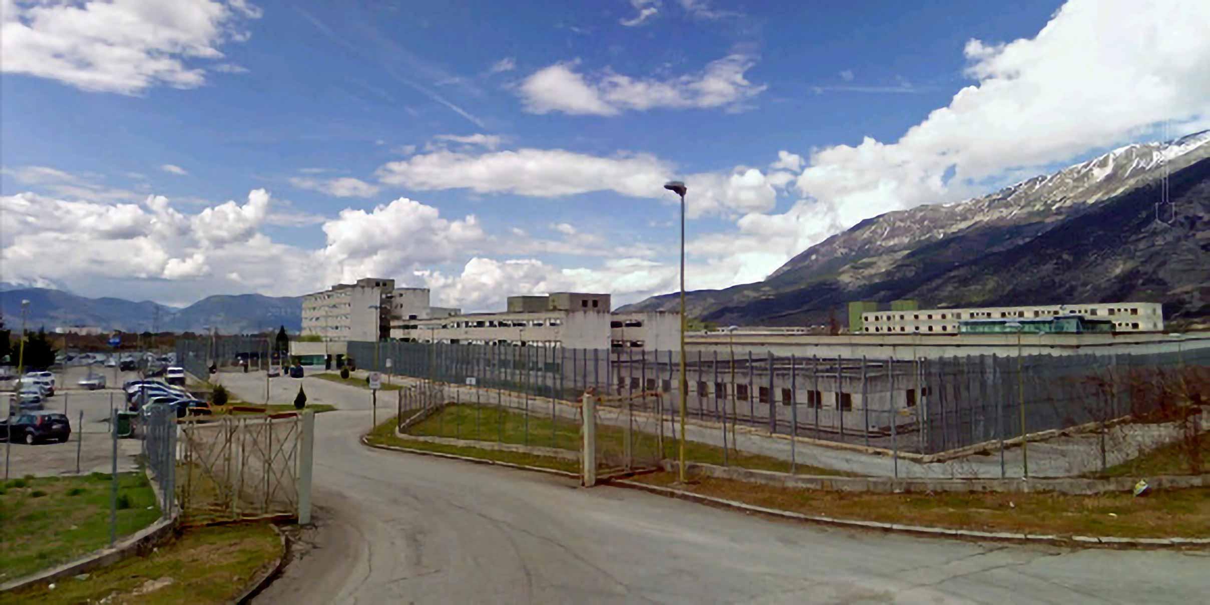 carcere di Sulmona esterni