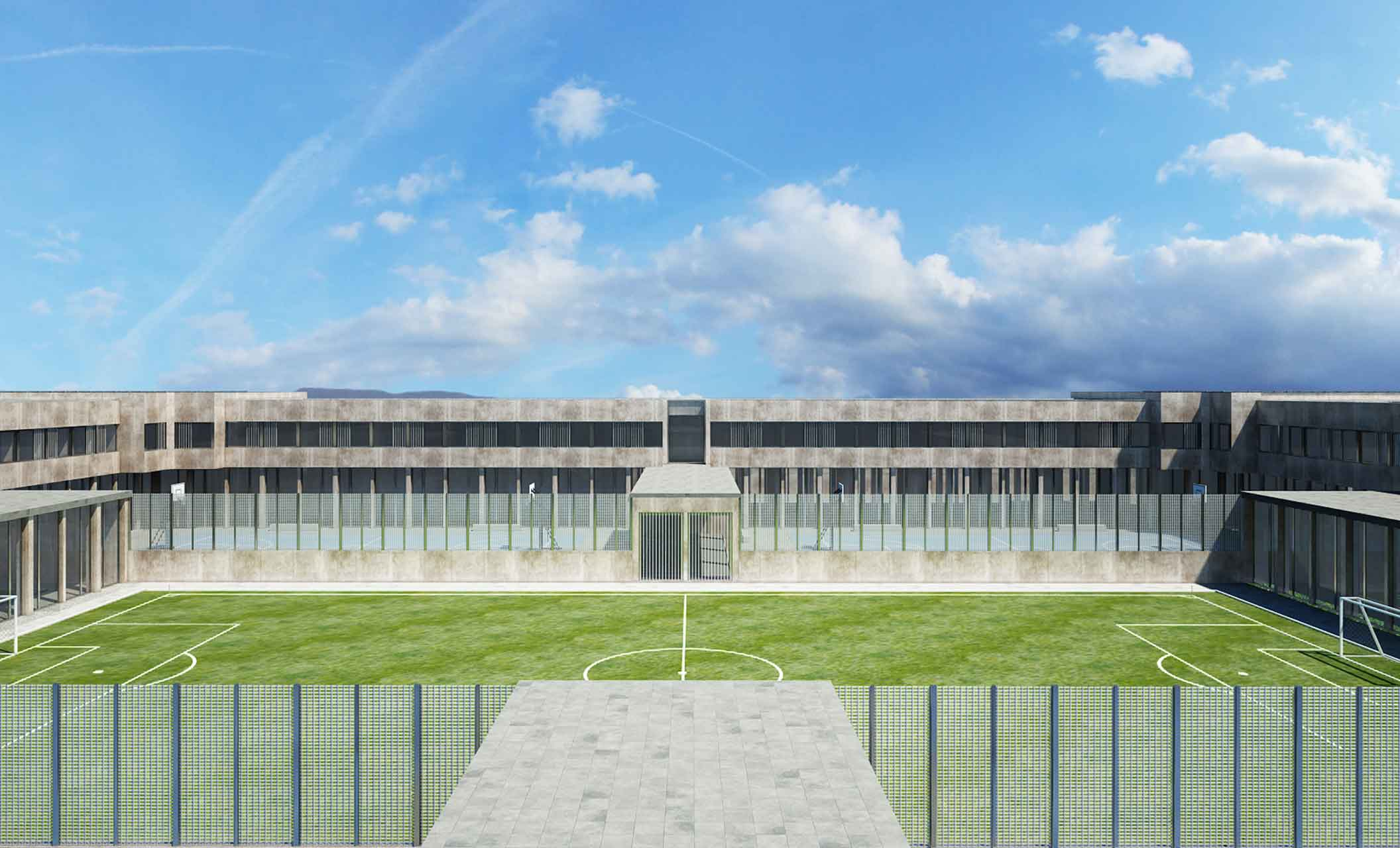 carcere verziano campo da calcio
